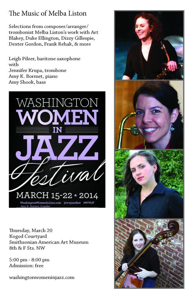 Washington Women in Jazz Festival 2014