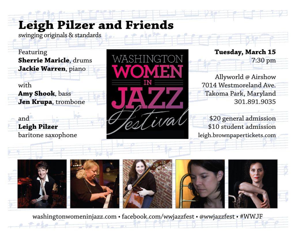 Washington Women in Jazz Festival 2016